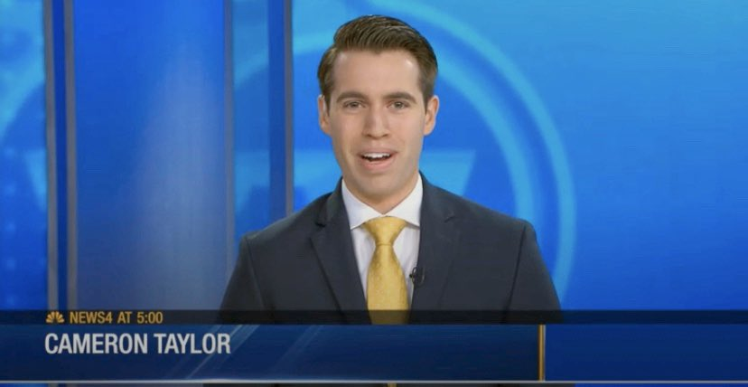 My buddy and colleague @WSMVCameron looked and sounded great filling in to anchor the shows today! A natural!!! ☺️