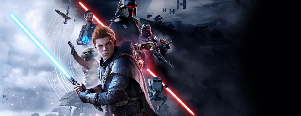 """""""Star Wars Jedi: Fallen Order"""" heißt das neuste Spiel zum multimedialen Phänomen, das vor langer Zeit in einer weit entfernten Galaxis begann, und Alexander Schlicker meint in seiner #heynescifireview, dass sich das Game nicht zu verstecken braucht https://diezukunft.de/review/game/force-strong-you…pic.twitter.com/5UgynkwtC2"""