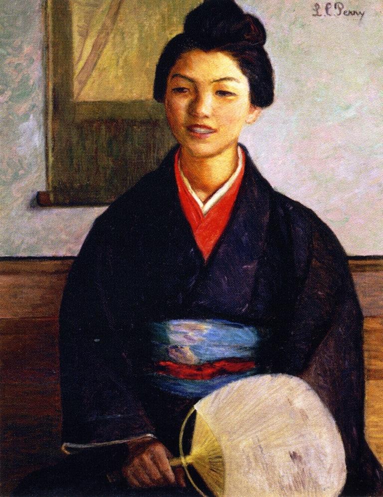 Japanese Girl, 1899 #femaleartist #impressionismpic.twitter.com/nCBcCmLMoQ