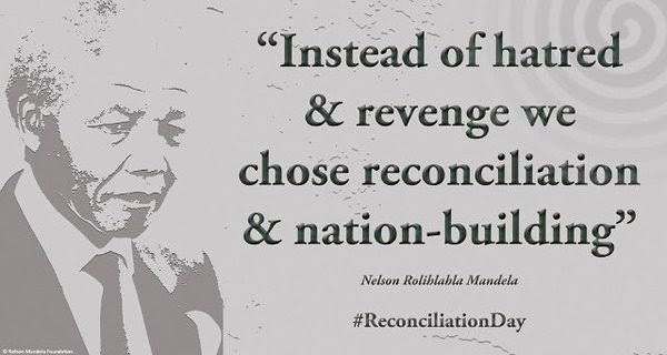 Happy            Day of reconciliation                                     South Africa pic.twitter.com/DtAADIT6r3