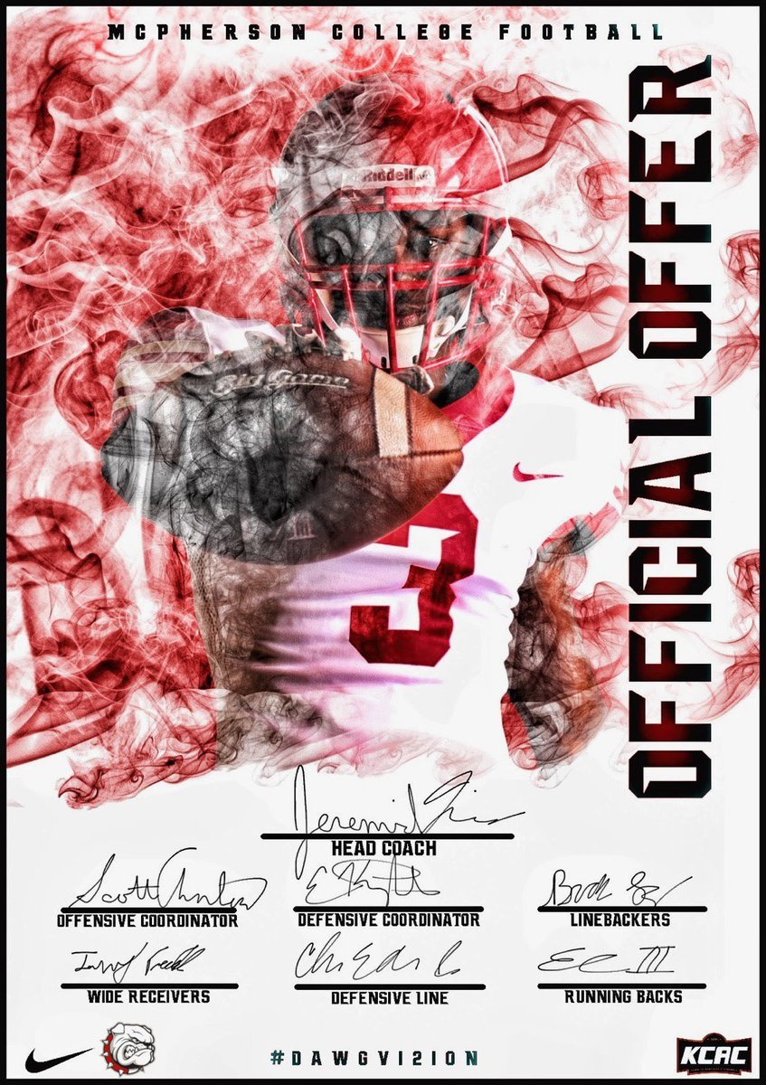 Blessed to have receive my First offer from McPherson college #AGTG @ChabotFootball @jerome_manos @CoachFanenepic.twitter.com/DR8avWYY76