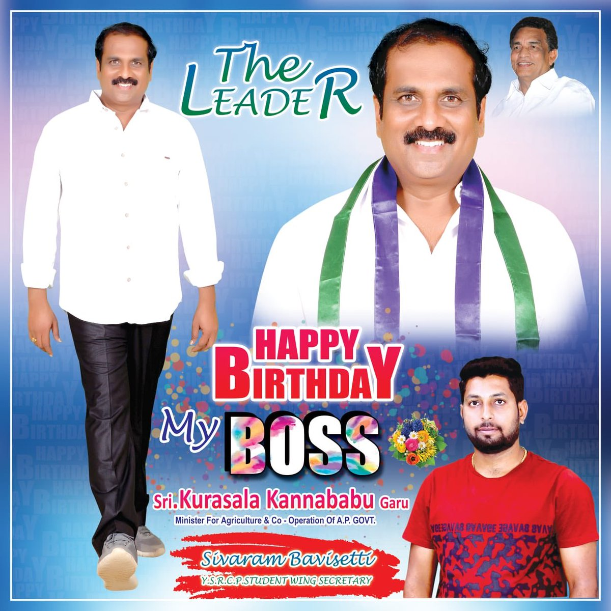 May This Day Brings You Lots Of Brightest Smiles And May This Year Be The Greatest In Ur Life...I Wish U Many More Happy Returns Of The Day Annaya@kannababu_k   #Agriculture_minister  #kakinada_rural #eastgodavari #visakha_zilla #Incharge_minister #Andhrapradeshpic.twitter.com/HG2eHHazYN