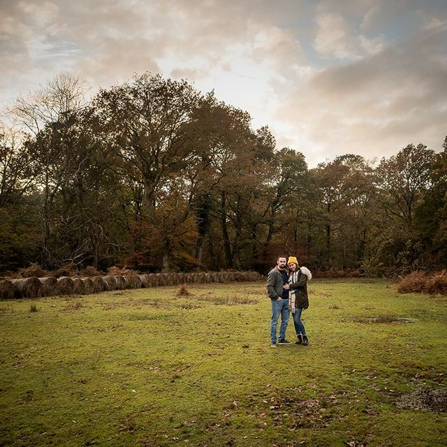 This photo, from a recent engagement shoot in the New Forest, is as much about the landscape as the couple. Autumn at sunset is such a great time to shoot there.  #engagementshoot #coupleshoot #newforest #autumn #goldenhour https://ift.tt/2Pt5l41pic.twitter.com/MrKoiLpfyK
