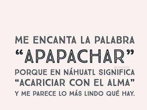 #Apapachar ❤️