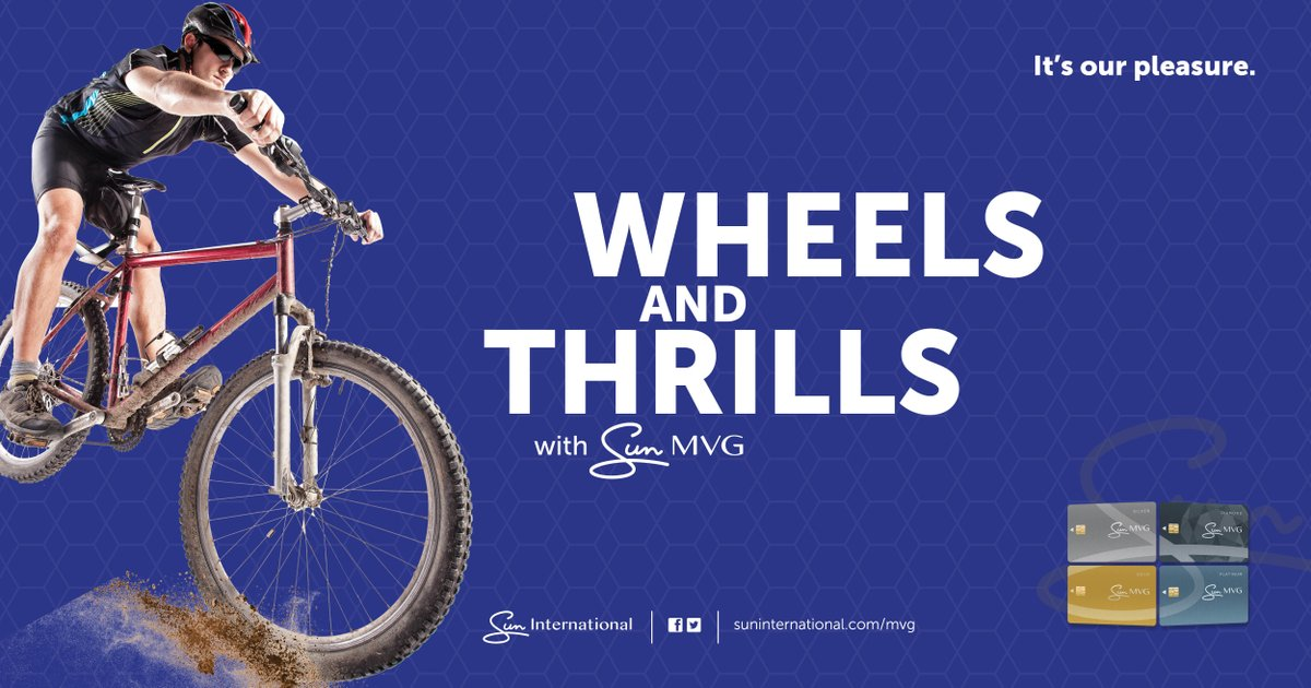 Calling all Mountain bike, bmx and skateboard fans.   Sun City Resort has a thrilling, multi-wheel pump track suitable for the whole family and all skill levels.  Best of all, MVG members receive discounts of up to 20%.  https://fal.cn/35CYBpic.twitter.com/xbIaUukm4y