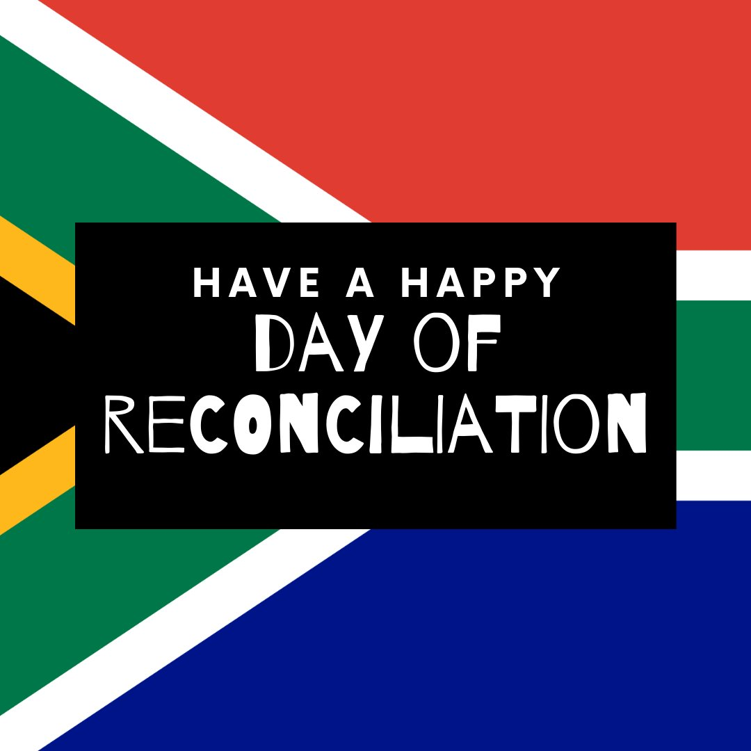 Happy Day of Reconciliation to all our South African runners, cyclists, swimmers and triathletes! Today, may we remember everything that is beautiful about our Rainbow Nation! pic.twitter.com/B04Cx9jgVO