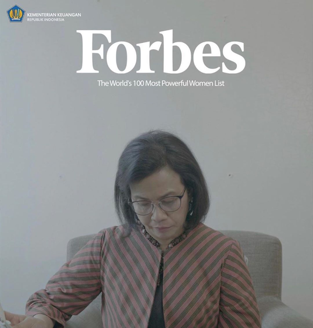 Termasuk salah satu The World's 100 Most Powerful Women 2019 versi majalah Forbes.  Selamat Ibu @smindrawati, prestasi ibu bukan hanya jadi kebanggaan, tapi juga inspirasi bagi seluruh keluarga besar @kemenkeuri.  Foto: Biro KLI/ @irwndferrypic.twitter.com/5KcxxGE1KS