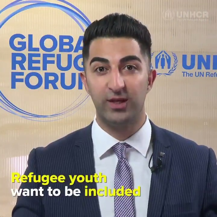 """Image for the Tweet beginning: """"Refugee youth want to be"""