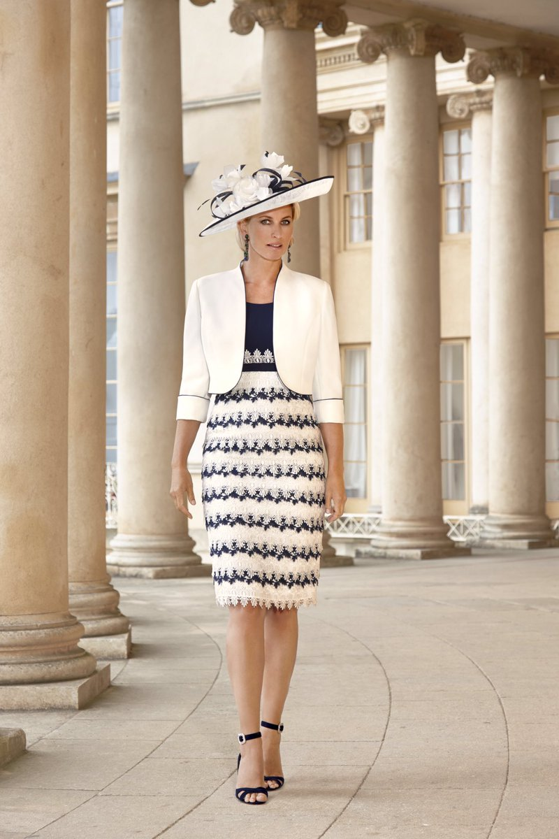Beautifully tailored Special Occasion Outfit by #Condici. 70819 Cream/Navy #Size10 #size12 #kentwedding #wedding2020  #springsummer2020 #motherofthebride #motherofthegroom #weddingguest #springwedding #summerwedding #winterwedding #specialoccasionwear #castlestreet #canterburypic.twitter.com/L2LANPlW1Y