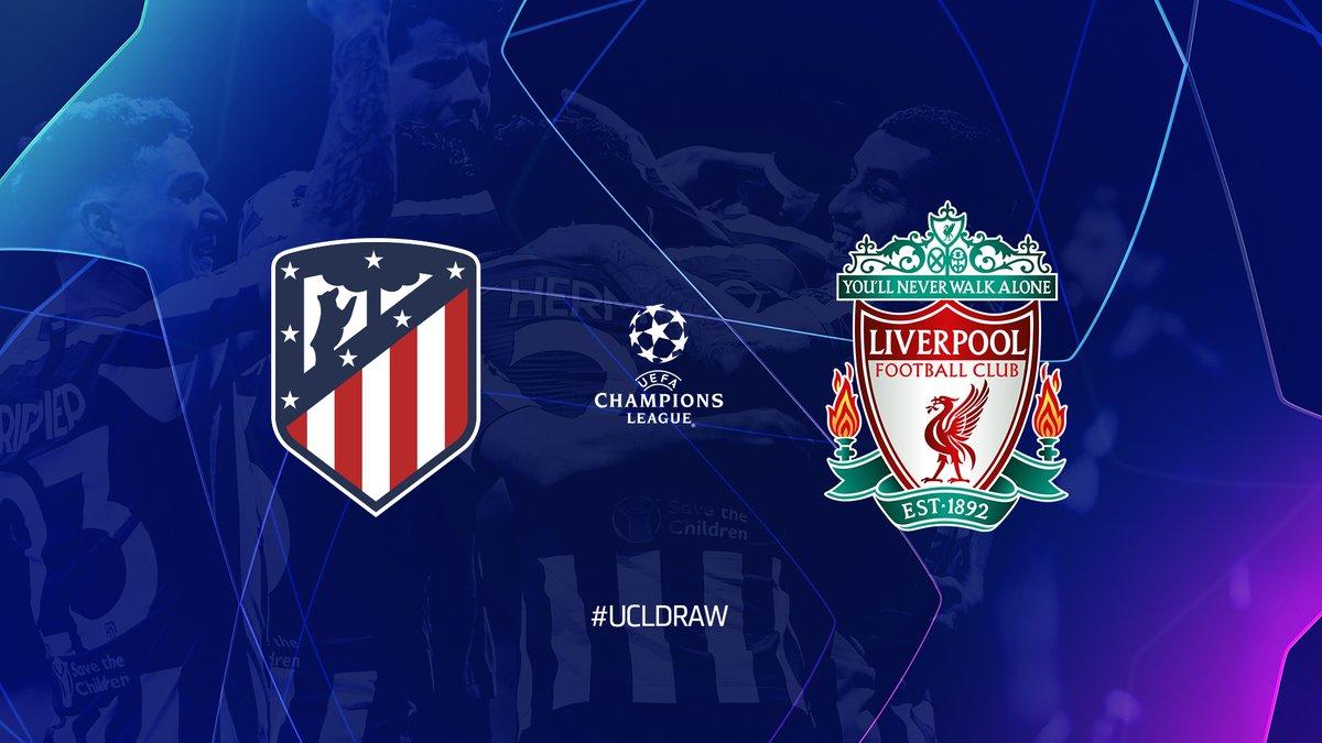 Футбол Лига Чемпионов прямой эфир Атлетико - Ливерпуль 18.02.2020 смотреть онлайн