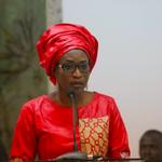 Image for the Tweet beginning: Zahra Iyane Thiam rectifie Serigne