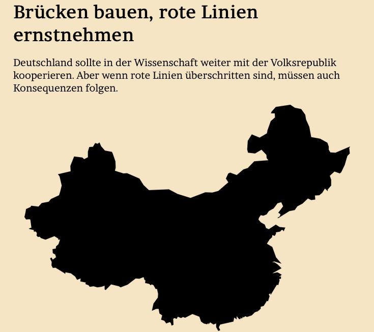 BRÜCKEN BAUEN, ROTE LINIEN ERNSTNEHMEN Deutschland sollte in der #Wissenschaft weiter mit der Volksrepublik #China kooperieren. Aber wenn rote Linien überschritten sind, müssen auch Konsequenzen folgen.  Meine Kolumne im @Tagesspiegel und im Blog: https://www.jmwiarda.de/2019/12/16/brücken-bauen-rote-linien-ernstnehmen/…pic.twitter.com/9mXC0UIgx5