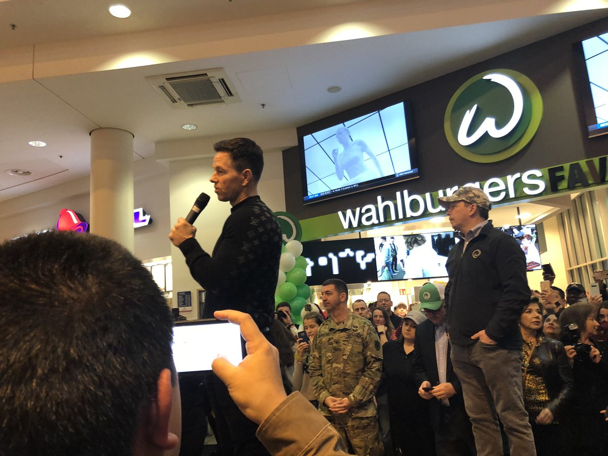 Welcome to the Exchange family, @Wahlburgers! It's an honor to have you at @RamsteinAirBase. #aafes #wegowhereyougo pic.twitter.com/0oCscrKdCv – at KMCC Food Court