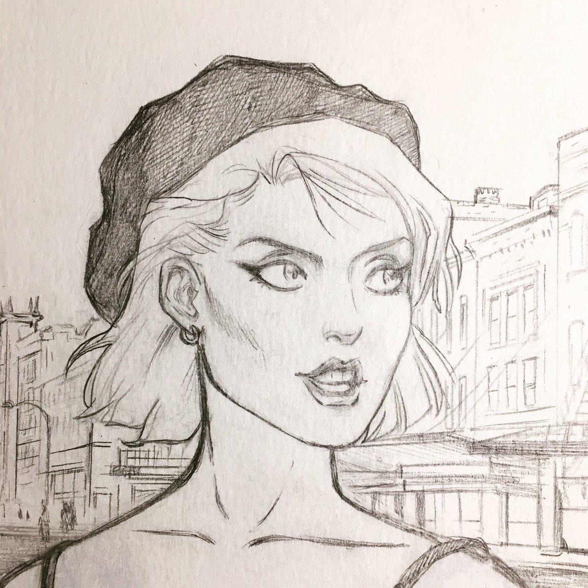 Sunday Girl on a Monday Morning: work in progress on Deborah Harry. #Blondie #DeborahHarry #debbieharry #newwave #punk #womenofpunk pic.twitter.com/dA8HS9X85P