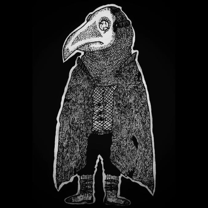 Plague Doctor #blackandwhite #originalcharacterpic.twitter.com/fPC1r8PyNj