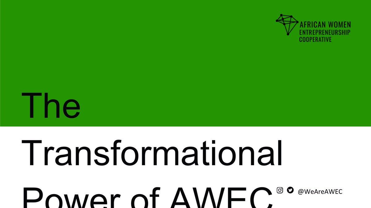 African Women Entrepreneurship Cooperative 12 month program  2/4 #weareawecpic.twitter.com/xjBcewZmNK