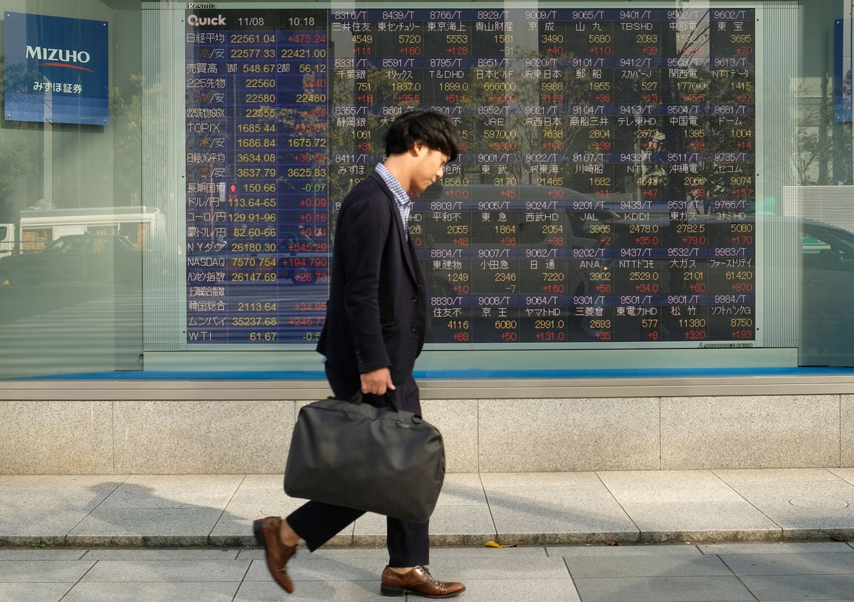 Asia stocks set for subdued open despite renewed optimism with phase one US-China deal 'totally done' http://dlvr.it/RLM9xZpic.twitter.com/OGGStCSA8y