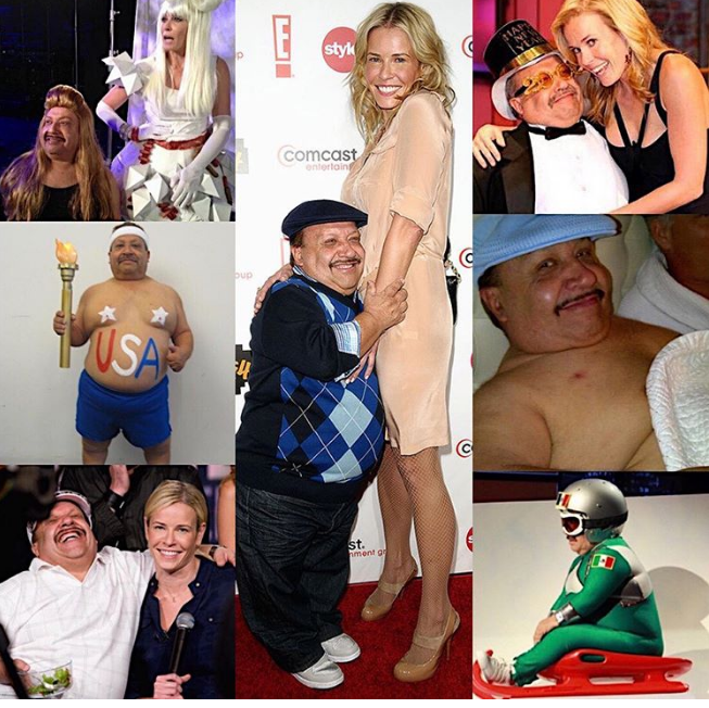 So sad to hear about the passing of Chuy Bravo from 'Chelsea Lately' who died over the weekend at the age of 63   Chelsea Handler wrote a touching post on Instagram ---> https://ihr.fm/2PNl1xO pic.twitter.com/GaeDt5TYRi