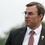 Image for the Tweet beginning: First-term Democrats push Amash as
