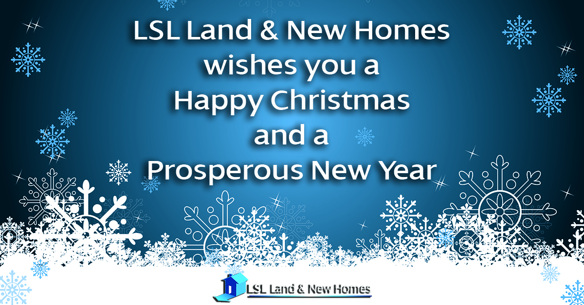 LSL Land & New Homes wishes you a Happy Christmas and a Prosperous New Year!  Our services are on every developer's Christmas list... Whatever stage your project is at, include us in your plans for 2020. https://www.lsllandandnewhomes.co.uk #newhomes #newbuild #newbuildsales #developmentlandpic.twitter.com/uf4qZkZB70