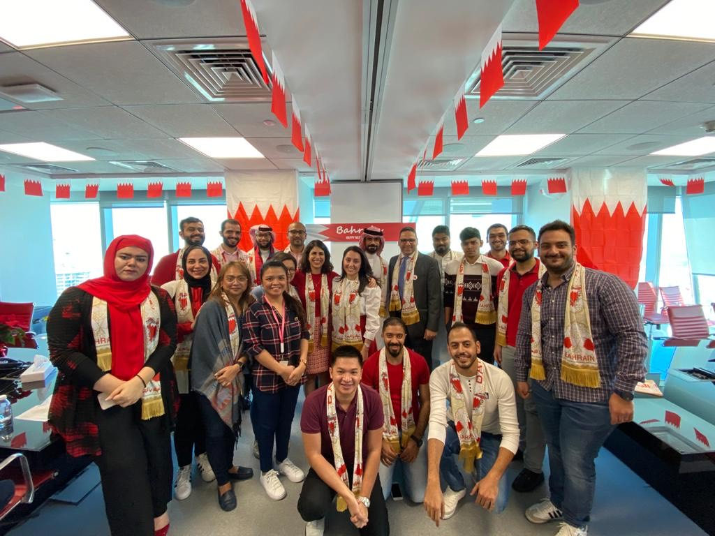 Happy National Day to our colleagues in Bahrain, who are celebrating this special day today.  Happy 48th National Day, Bahrain! #Bahrainnationaldaypic.twitter.com/x9IUF0uQcn