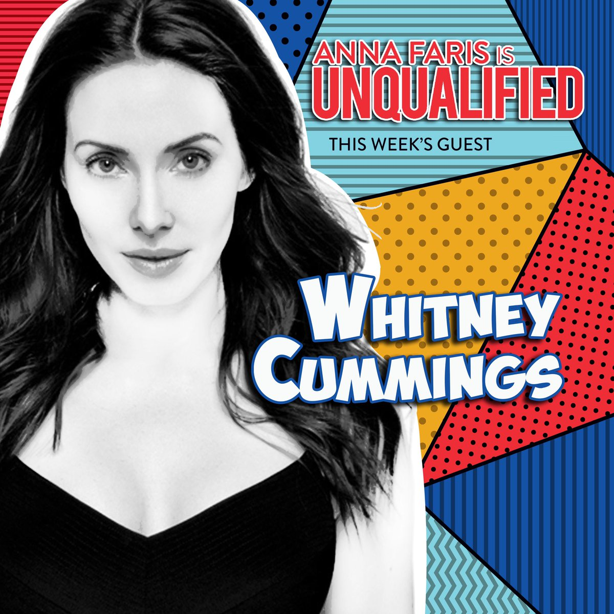 @whitneycummings is on this week's episode of @unqualified! apple.co/2YQpZOw