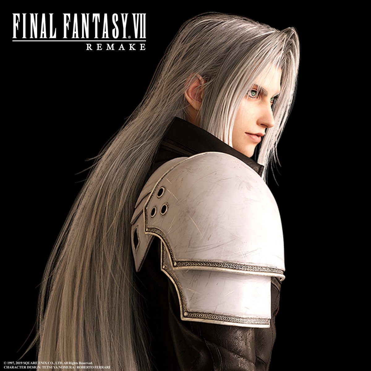Final Fantasy Vii Remake On Twitter And Here S A Much Closer Look At The Legendary Sephiroth In Finalfantasy Vii Remake Ff7r