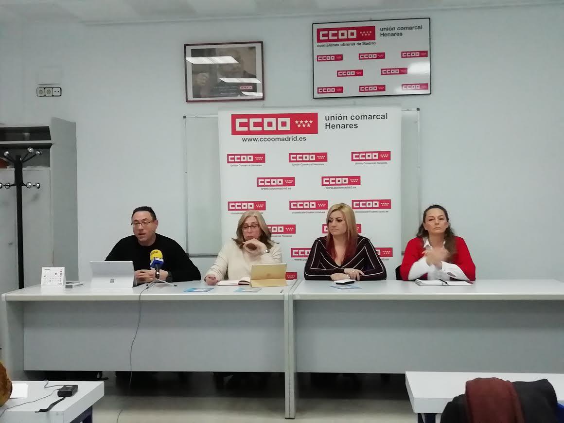 Foto cedida por CCOO Henares