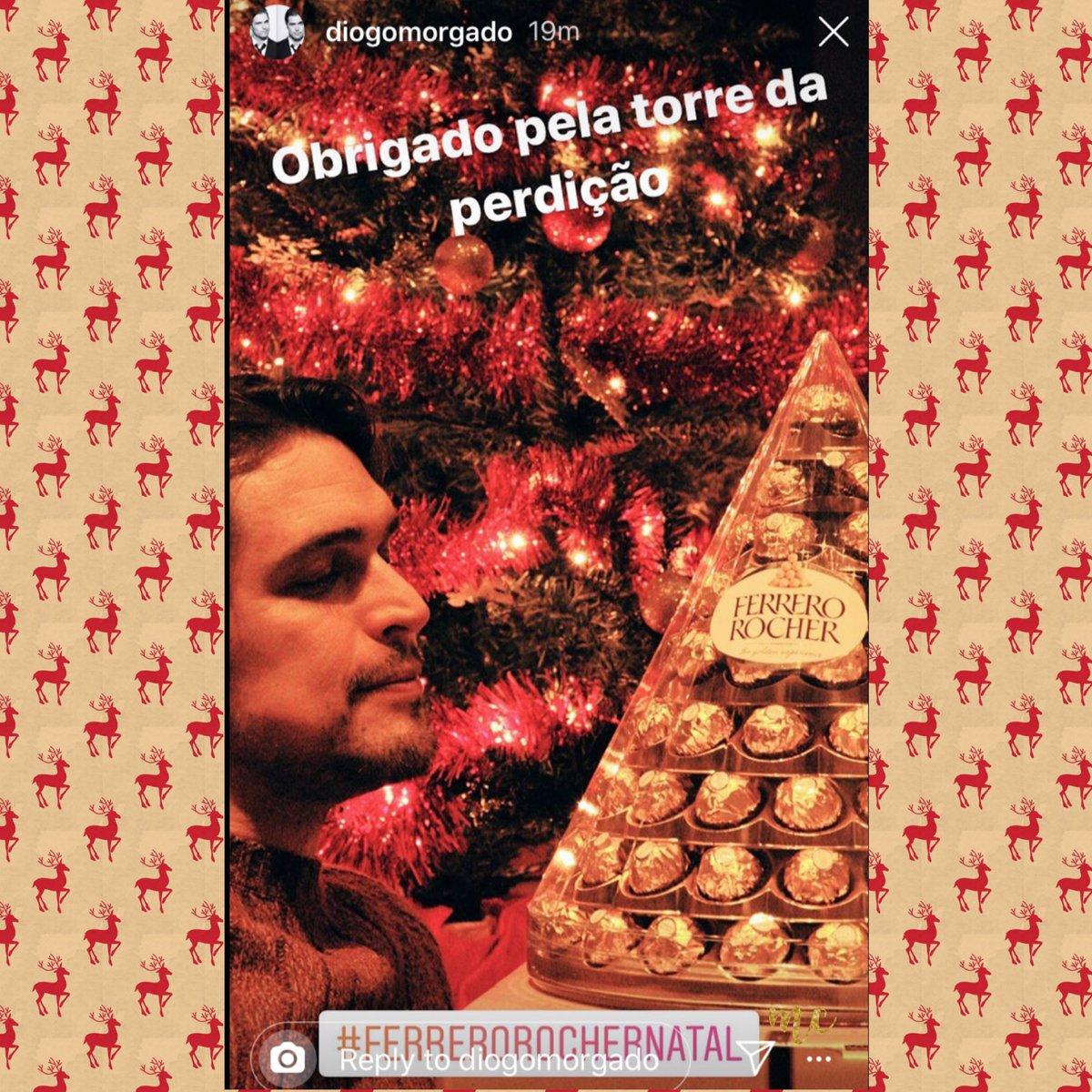 The way Diogo looks at those chocolatesFrom his instastory @D_Morgado #ferrerorocher #diogomorgado pic.twitter.com/9sD1Iyk49U