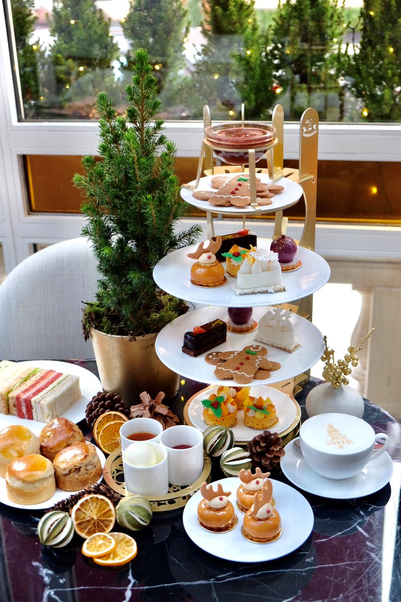 Make time for tea! The beautiful Festive #AfternoonTea from #JeanGeorges @TheConnaught | https://t.co/5jPkdrMnXf https://t.co/ASRvjwRWG2