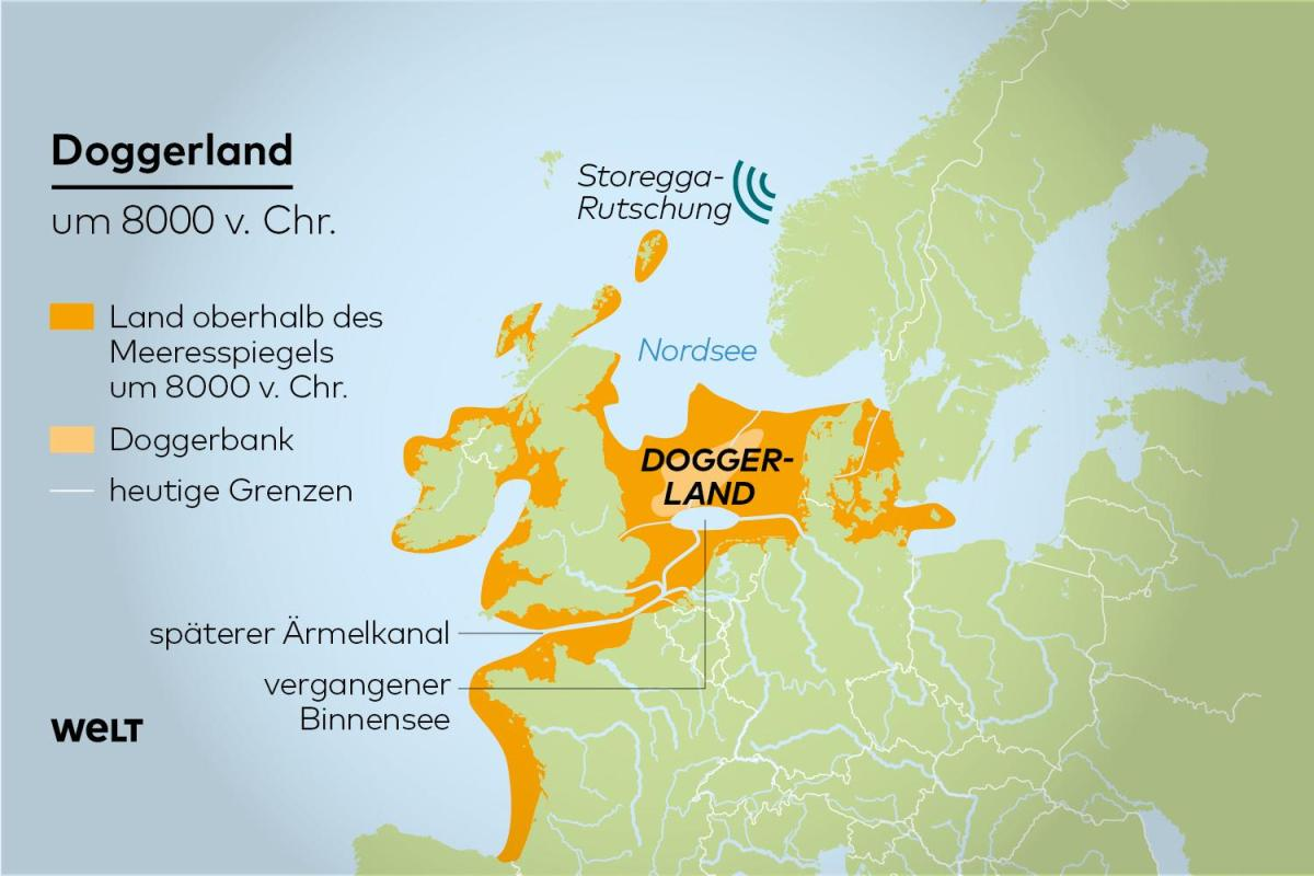 Doggerland is my personal fascination of the last days. Apparently there was a huge, fertile lowland between Britain  and Denmark (9000-6000 B.C.) which got drowned/pushed down by melting polecaps and a massive Tsunami.  https://www.youtube.com/watch?v=wcubRlMqaEs …  https://www.welt.de/geschichte/article193492663/Doggerland-Super-Tsunami-machte-England-zur-Insel.html …pic.twitter.com/cst8GppYLF