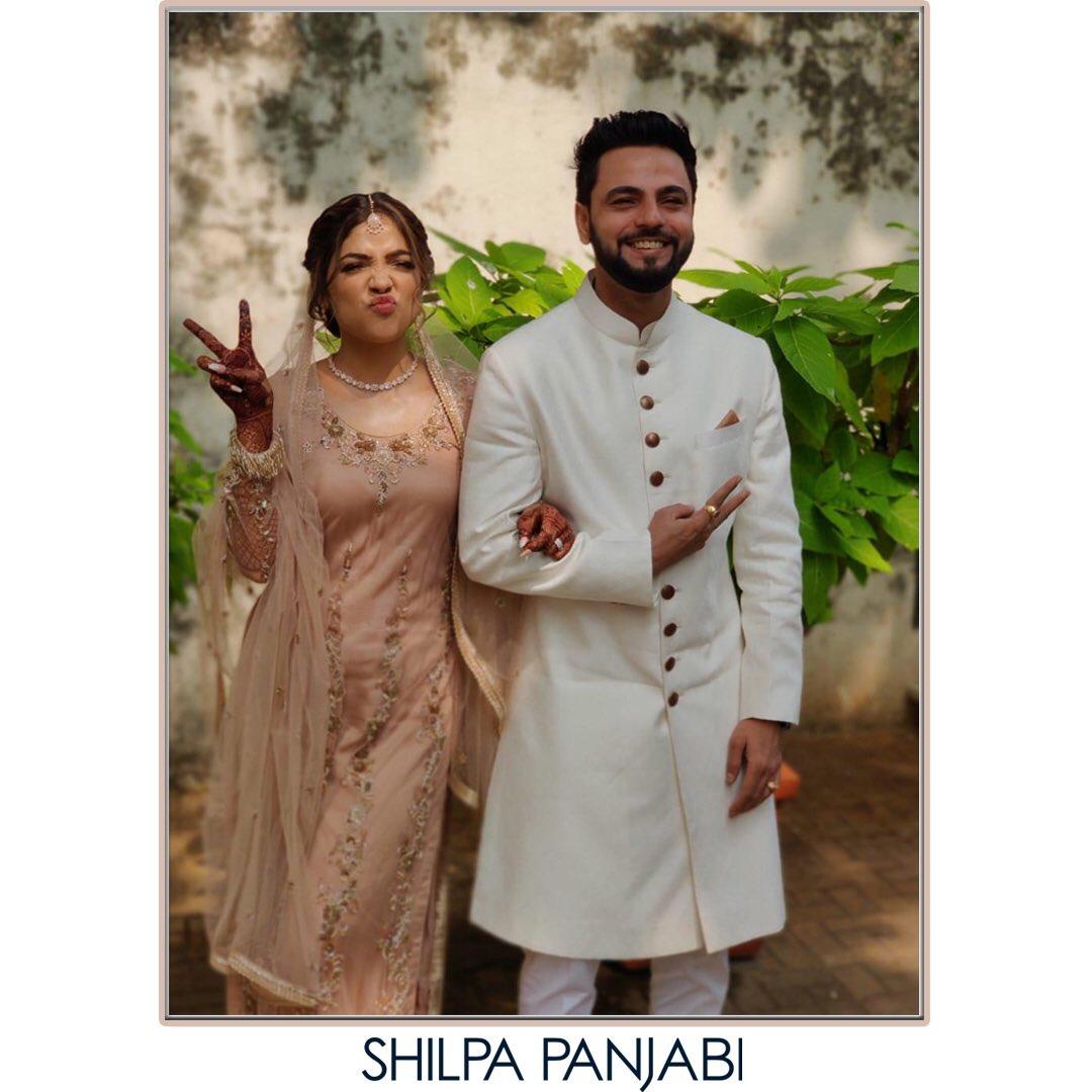 #theweddingstory #couplegoals The cutest couple dressed by us for their Nikaah ceremony!   @ in a hand embroidered kurta set and @ in self jacquard Sherwani .  #SPHCmenswear #SPHCbridalwear . . . #weddingstory #weddingdiaries #weddingdress #nikaah #festiveedit #weddingeditpic.twitter.com/QrNjDA4Dk2