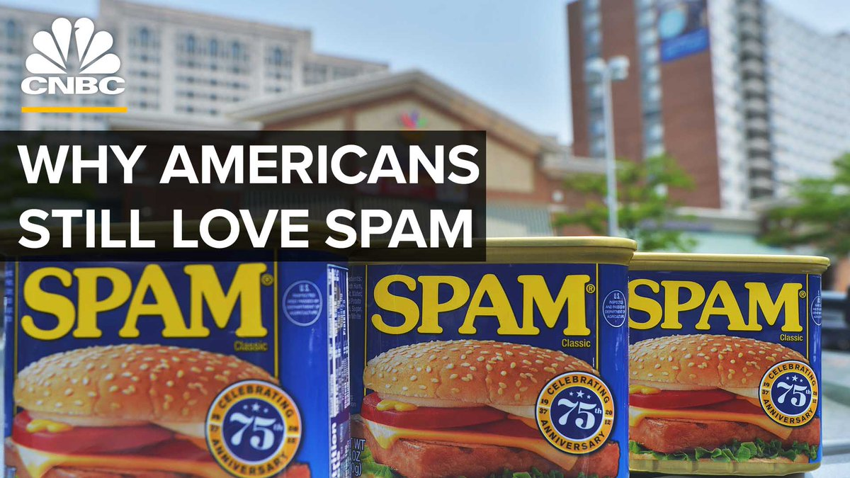 In Hawaii, Spam isn't just a canned meat — it's a big part of history. So why has Spam remained so popular over the years? https://cnb.cx/36LK77b