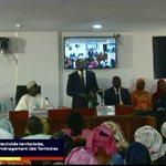 Image for the Tweet beginning: Le ministre Oumar Guèye au