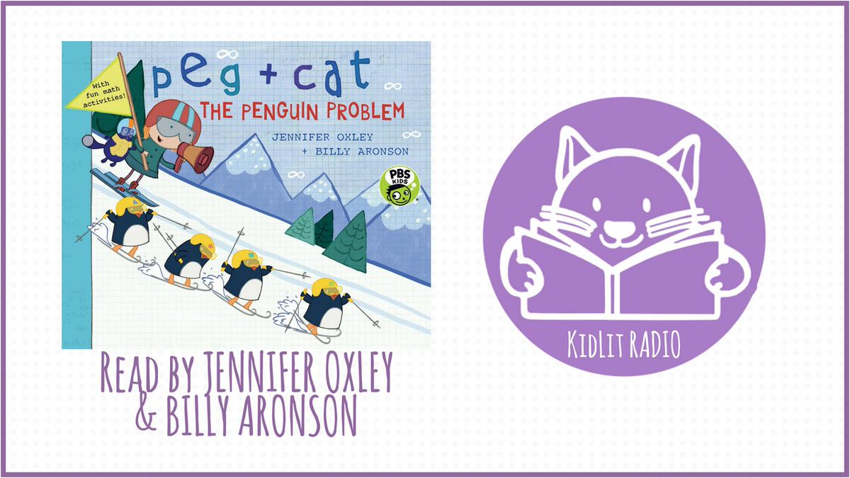 """The Animal Winter Games are swinging into gear! One issue: the penguins keep crashing! It's """"snow"""" problem for #PegPlusCat! Listen as Jennifer Oxley + Billy Aronson read PEG + CAT: THE PENGUIN PROBLEM on this #podcast of #ReadOutLoud: https://buff.ly/35dQD66 @PBSKIDS pic.twitter.com/tsKL1L8uZp"""