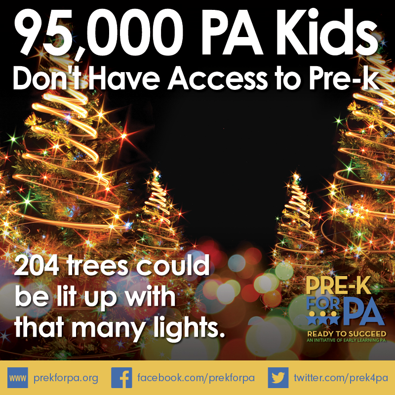 95,000 is a lot of lights. It's also a lot of kids without access to high-quality pre-k. #iamprek #PreKWorks