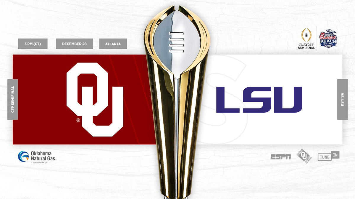Oklahoma Football On Twitter Planning Your Trip To Atlanta For The Cfapeachbowl Important Stadium Information Tickets Merchandise And More At Bowl Central Https T Co I2ofrb6omb Oudna Boomersooner Https T Co Lgo6pzjxp7