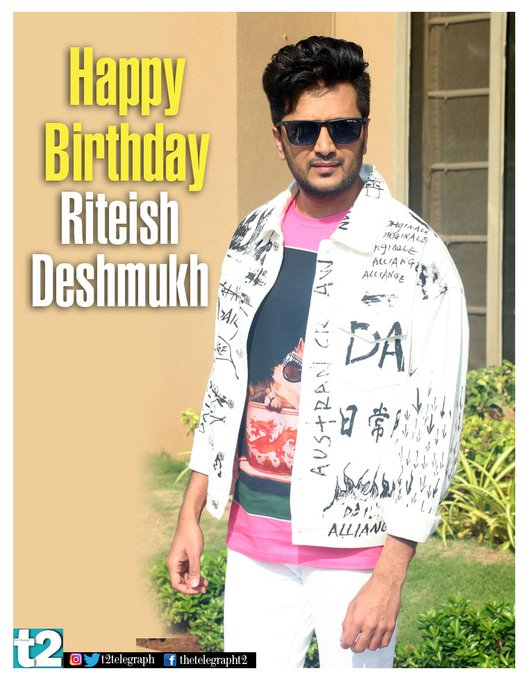He never fails to tickle our funny bone. Happy birthday, Riteish Deshmukh! Keep the laughs coming!