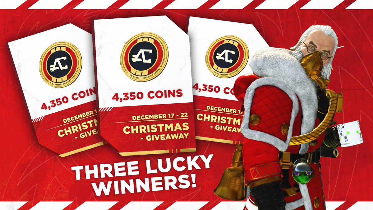 🚨 GIVEAWAY 🚨   Three lucky winners will win 4,350 Apex coins each!   ✅ Follow @AqualixEsports and @apex_intel  ✅ RT and LIKE this Tweet
