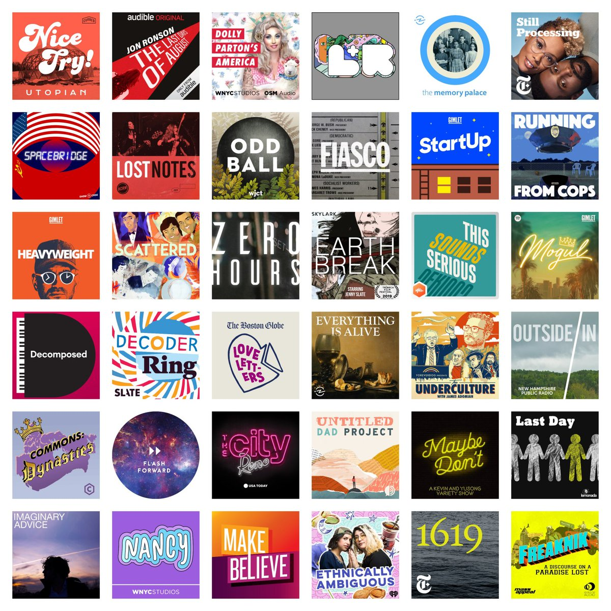 The 50 Best Podcast Episodes of 2019 bit.ly/2PUd9Lb