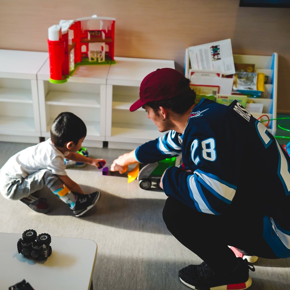 Had a great visit with some of the children in the hospital here in Winnipeg earlier this week!
