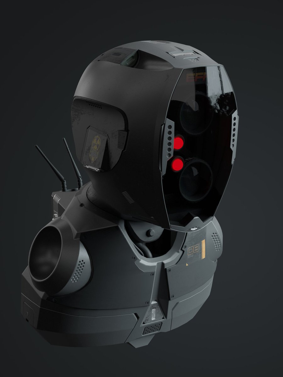Hardops Robot Number 2 Made using @mxeon1001 s #hardops and #boxcutter  #b3d #cgi #blendercentral #blendercommunity #hardops #hardsurface #cyclesrender #sincefiction #robot #decalmachine https://www.instagram.com/p/B6JI3xUKXF6/?igshid=154s1d7hgevfz…pic.twitter.com/2ZhcMaGOf2