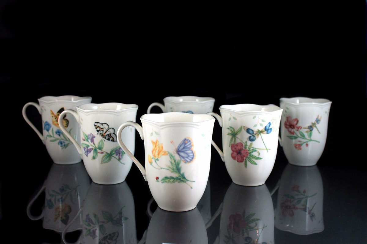 http://www.mountainairevintage.com Excited to share the latest addition to my #etsy shop: Mugs, Lenox, Butterfly Meadow, Set of 6, Various Designs, 10 Ounce, White, Floral #plantstrees #lenoxmugs #butterflymeadow #6lenoxmugs #lenoxchina https://etsy.me/2Eoarblpic.twitter.com/UUmiMrGzsz