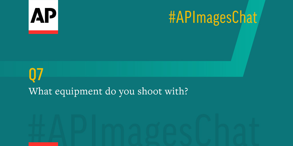 Q7: @vcaivano, what equipment do you shoot with? #APImagesChat