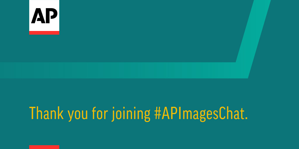 We're out of time, big thanks to @vcaivano and all of you for participating in this month's #APImagesChat.