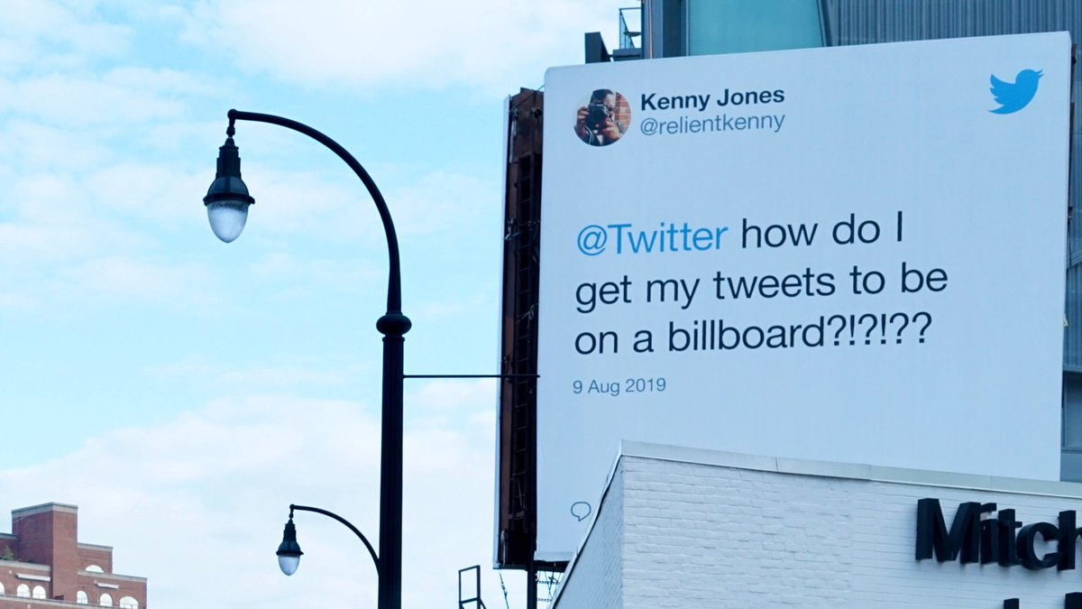 Twitter put my tweet on a billboard in BUCKHEAD of all places!!!!! i can not wait to go physically see this for myself today! i'm literally about to cry. This has made being on Twitter for 10 Years so much more worth it 🙌