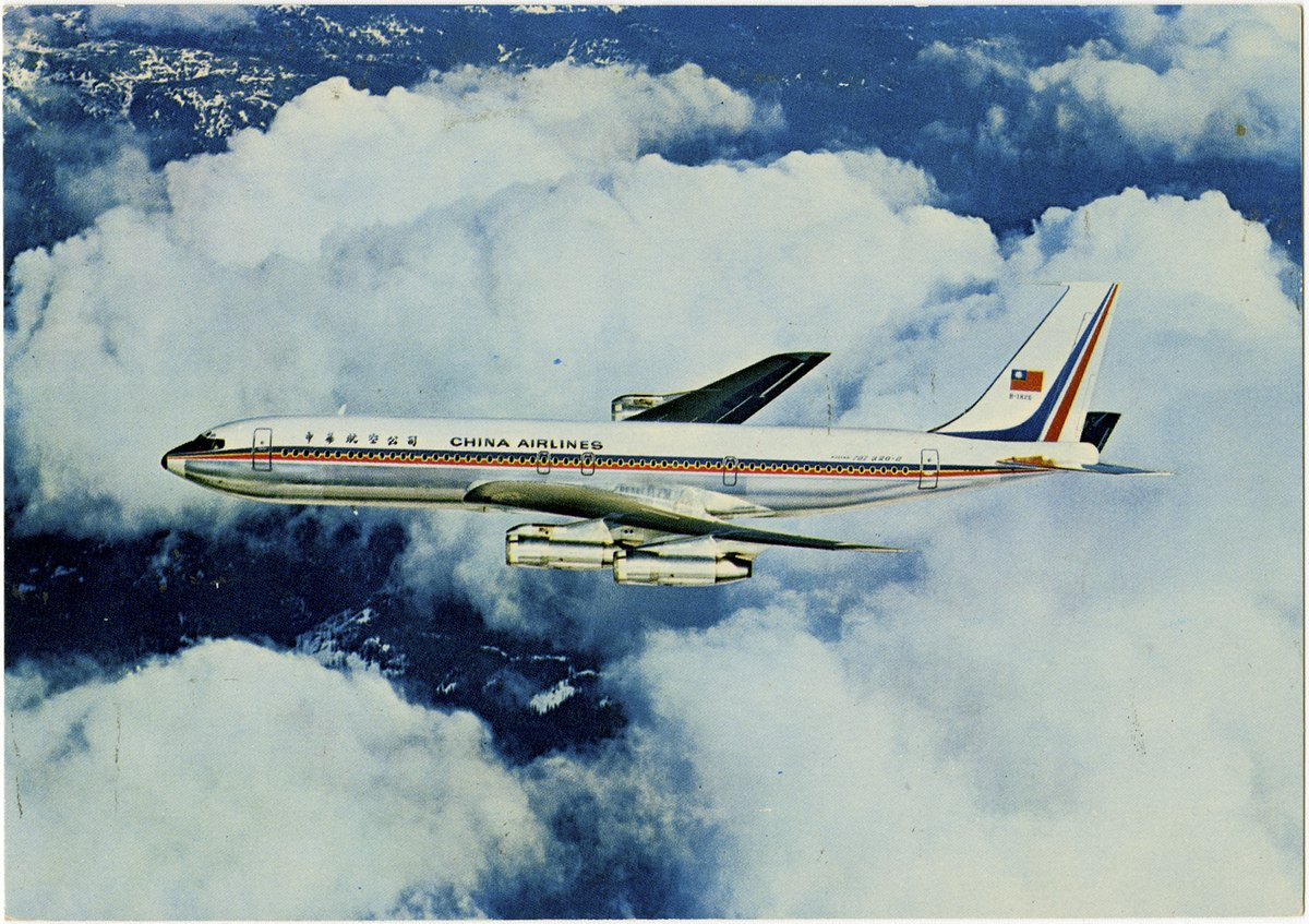 #ChinaAirlines, the flag carrier of #Taiwan, was founded on December 12, 1959, by retired Chinese Air Force officers. #Transpacific service to San Francisco began in 1970 with the acquisition of the #Boeing 707 jetliner. Have you ever flown on China Airlines? #avgeekpic.twitter.com/Xpw05jFMMm