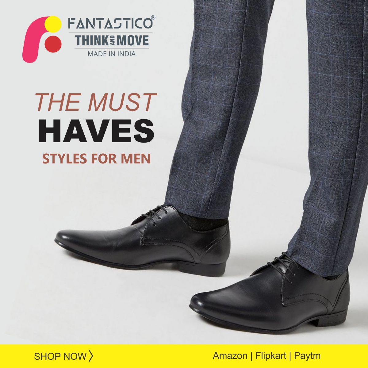Fantastico magical collection of apparel, footwear and accessories has something for everybodyGreat Brand. Smart Prices.#Fantastico #Shoes #designs #Brand #Janmashtami #FantasticoShoes #Handcrafted #shoes #MenShoes #MenFootwear #MenFormalShoes #MenFormal #MenDressShoes #Formal