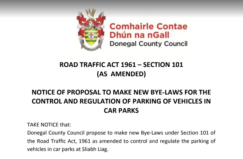 Representations to counter these restrictive Bye Laws proposed by @donegalcouncil for access to Sliabh Liag Cliffs MUST BE MADE by 12 noon on 23rd of December 2019 @Failte_Ireland @wildatlanticway @govisitdonegal @SineadFailte  For Synopsis and PDF see https://t.co/WlP9xra9O6 https://t.co/KsLkLAuYKW
