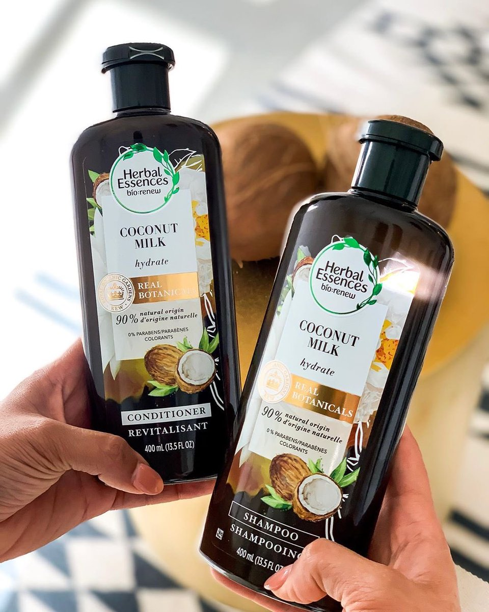 Leave a 🥥 in the comments if you're coco-nuts about this hydrating collection! Best part, it's made with real botanicals endorsed by the Royal Botanic Gardens, Kew @kewgardens #HerbalEssences #PlantPowerInEveryShower https://t.co/dMPRWGua3J